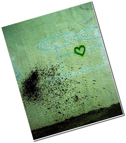 blue people, green hearts...a sad love story